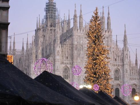 Foto Di Milano A Natale.Mercatino Di Natale Al Duomo Di Milano Dal 1 Dicembre