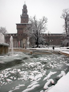 milano neve 2012