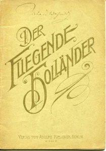 Der Fliegende Hollander Wagner
