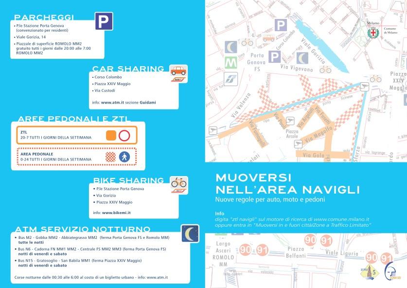 Ztl Milano 2013 Navigli