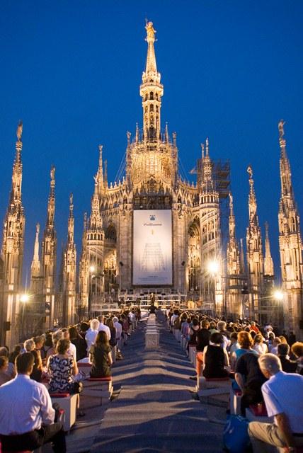 Concerto sulle Terrazze del Duomo di Milano con Willi Burger ...
