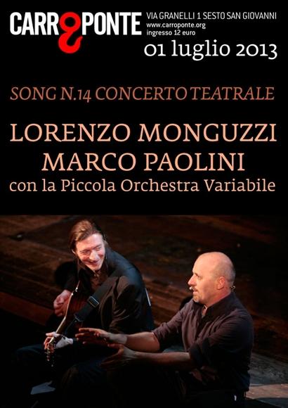 Marco Paolinie Lorenzo Monguzzi