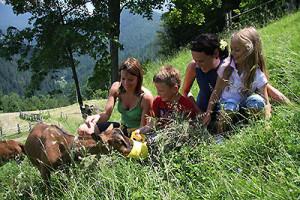 Vacanze in montagna coi bambini