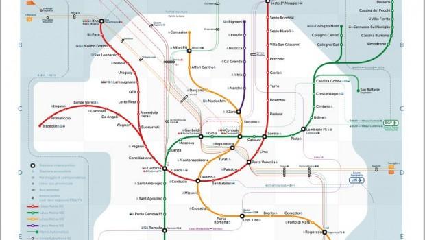 Nuova mappa metro Milano: è opera di un designer russo | Milano Weekend
