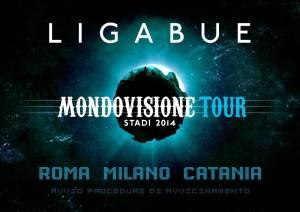 LIGABUE_MONDOVISIONE TOUR - STADI 2014