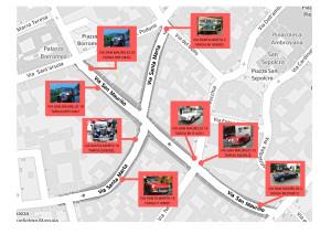 Milano nascosta mappa