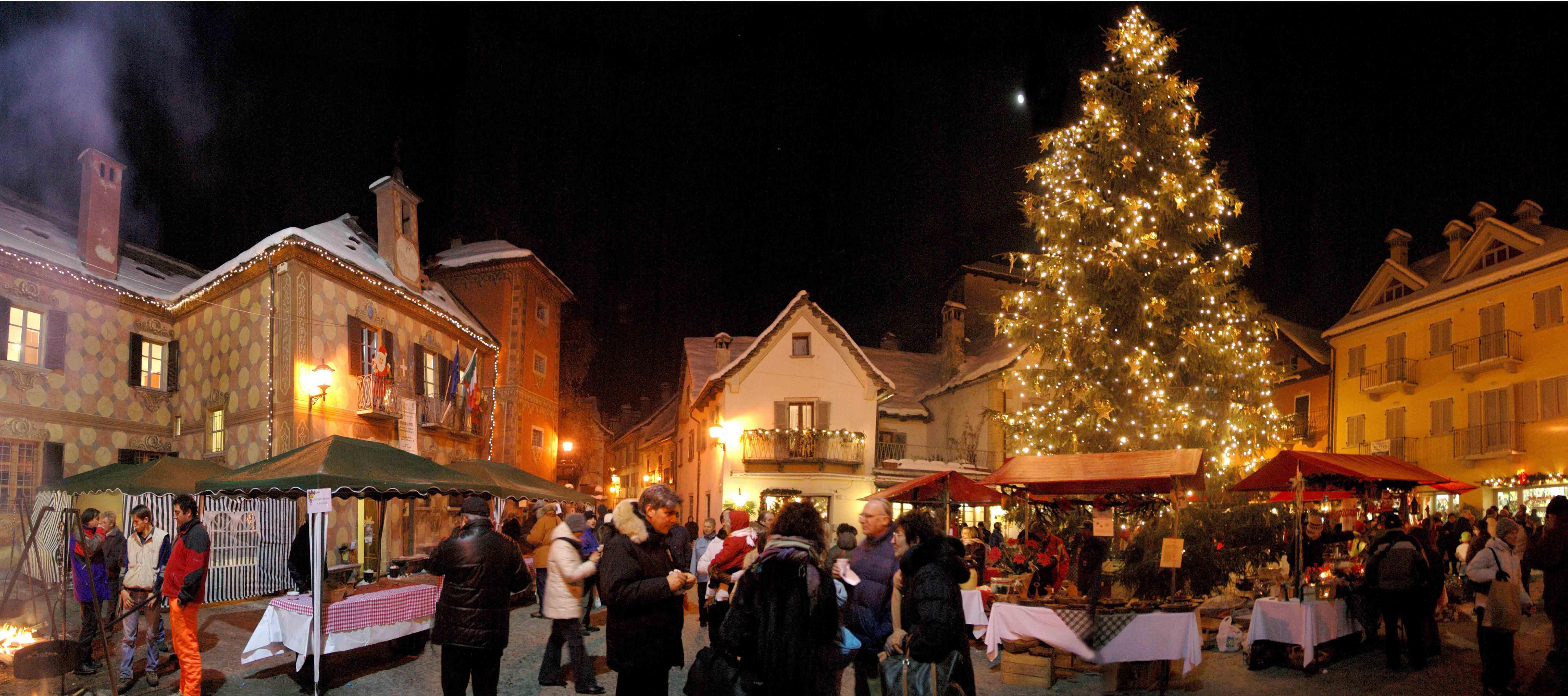 Mercatini Di Natale Piemonte.Mercatini Di Natale Di Santa Maria Maggiore 2013 In Piemonte