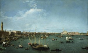 canaletto bacino venezia