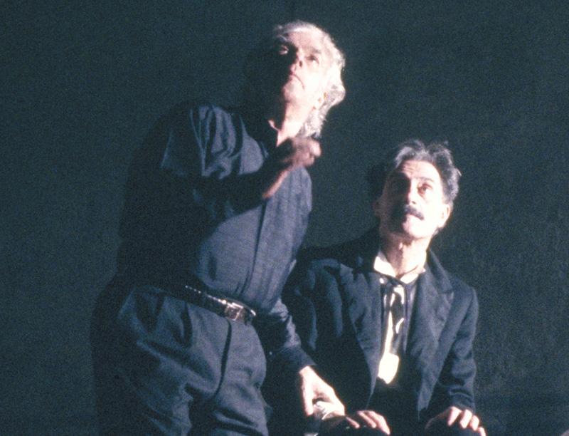 Giorgio Strehler e Giancarlo Dettori