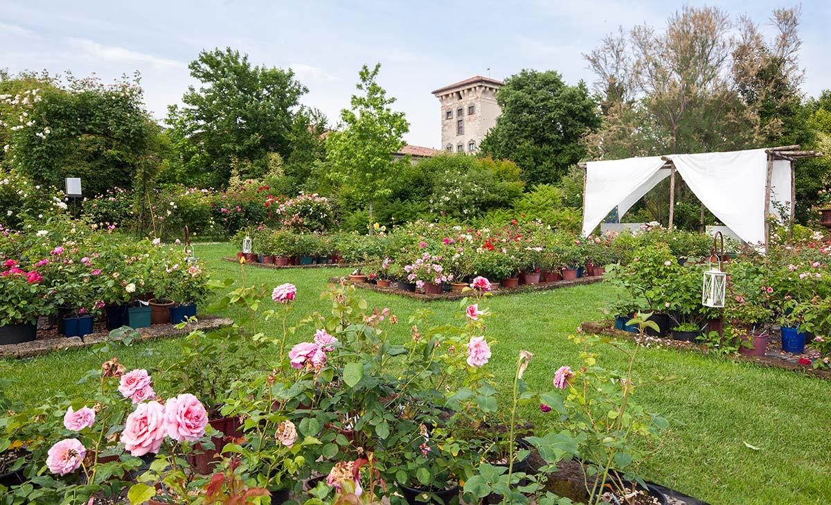castello quistini giardino