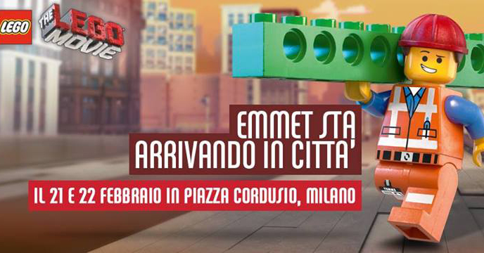 emmet lego movie milano