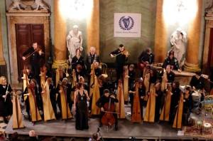 Celtic arpa orchestra