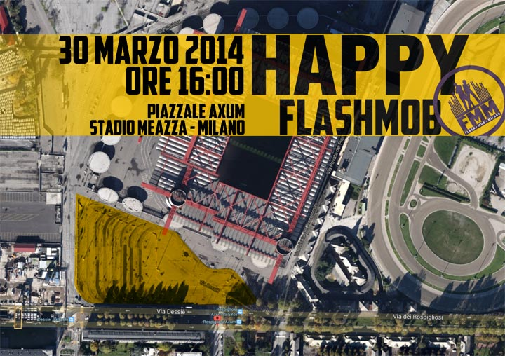 flashmob happy milano