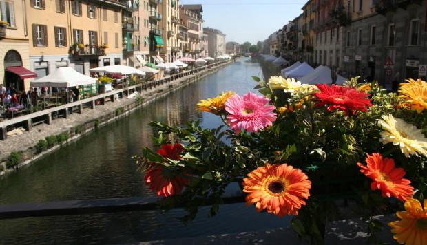 fiori sul naviglio 2014