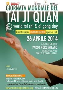 Giornata mondiale del Tai Chi 2014