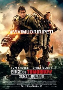 Edge of Tomorrow - locandina