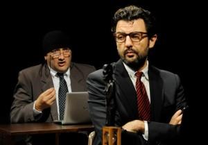 nella foto da sx Tony Laudadio ed Enrico Ianniello