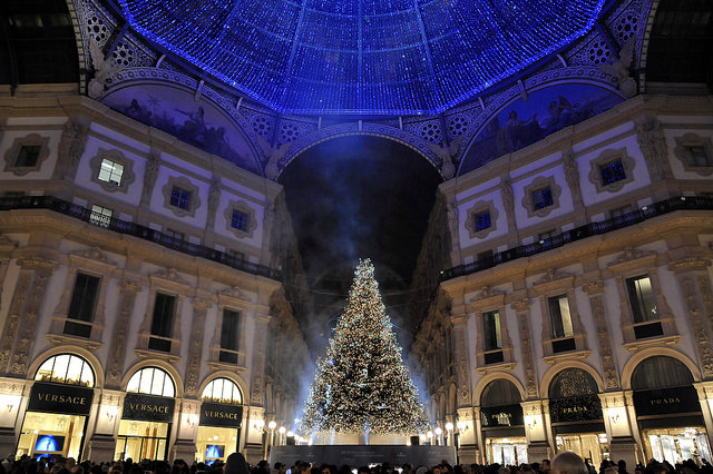 Albero Natale Swarovski Galleria 2014 (4)