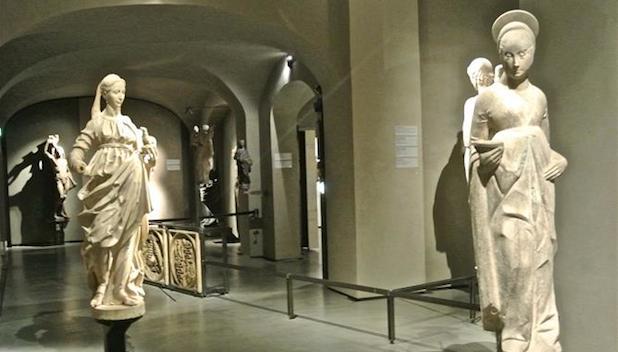 interno del Grande Museo del Duomo di Milano