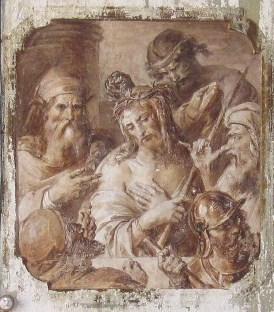 Francesco Podesti_Gesù presentato da Pilato al popolo_Villa Arconati
