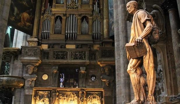 S. Bartolomeo scorticato_Marco D'Agrate_Duomo di Milano