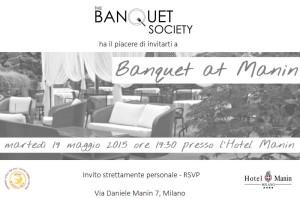 banquet at Manin