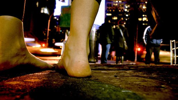 Barefoot in Tribeca