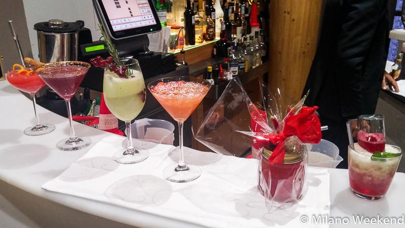 Cocktail di Natale Sanbitter panoramica