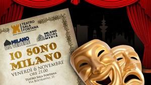 Io sono Milano teatro Sala Fontana