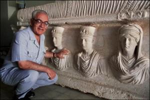 Khaled al asaad Palmira