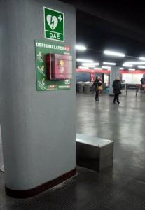 Defibrillatore metropolitana