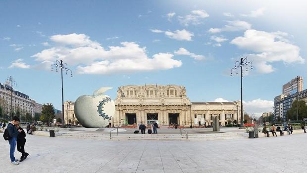Milano la mela reintegrata