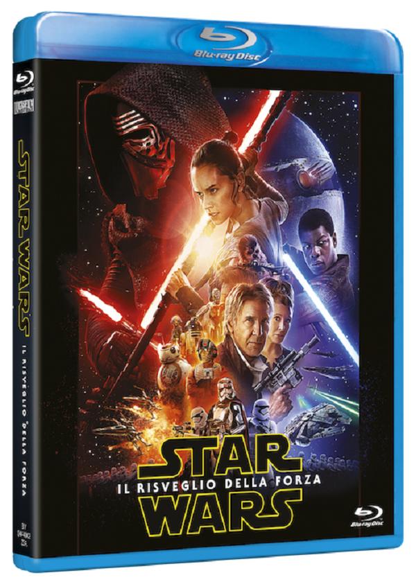 Star Wars Risveglio della Forza blue ray