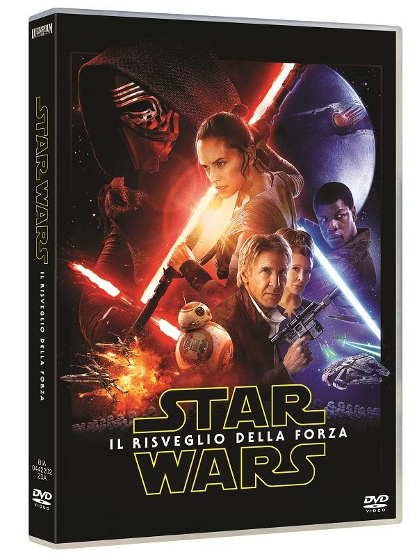 Star Wars Risveglio della Forza dvd