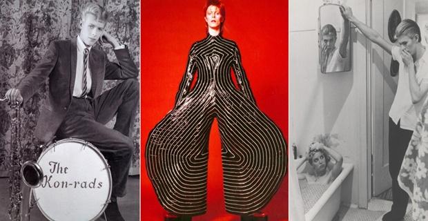 David Bowie mostra