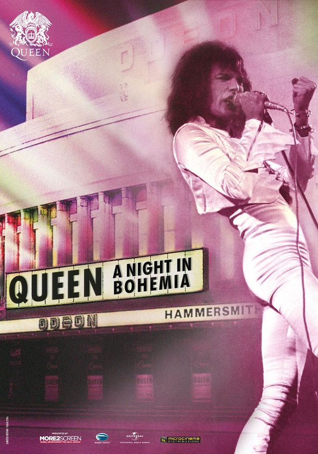 Queen A Night in Bohemia poster