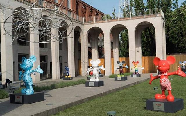 mostra Topolino Triennale