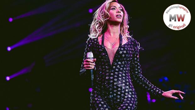 Beyonce Milano bollino spiegone
