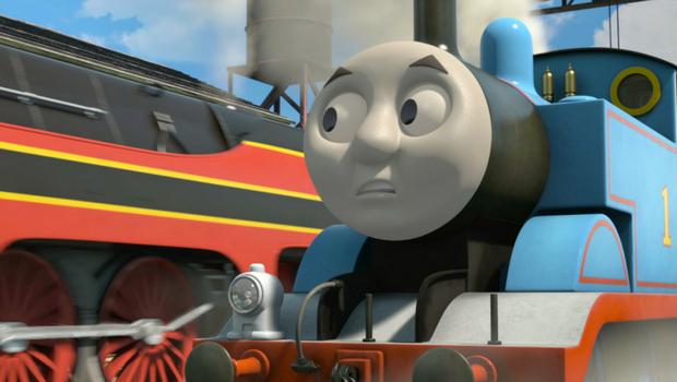 Il trenino thomas la grande corsa