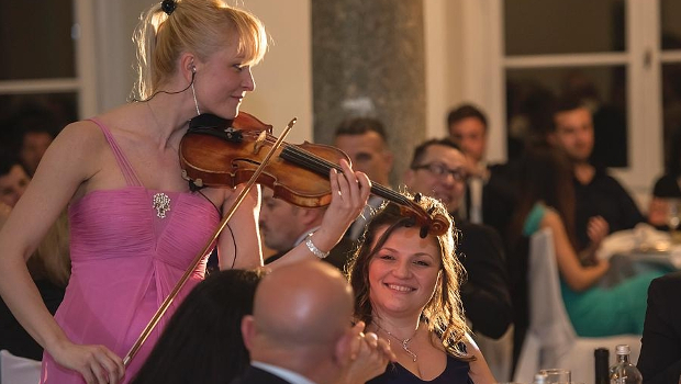 aule - Violin performance - speciale sposi
