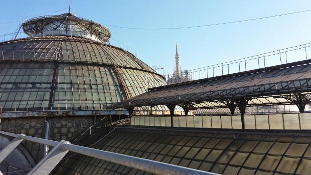 tetti galleria vittorio emanuele II milano