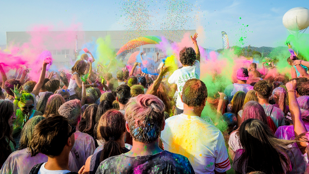 Holi Festival in Italia